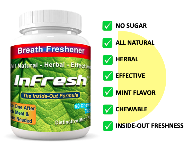 Infresh bad breath cure